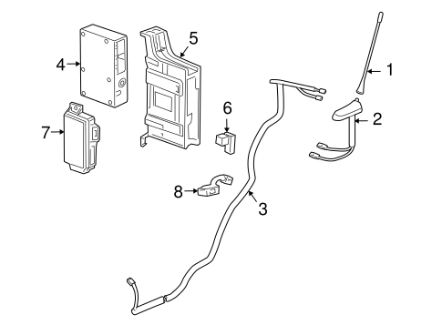 Communication System Components for 2014 Chevrolet Cruze