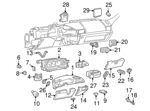 OEM Instrument Panel for 1995 Chevrolet Camaro