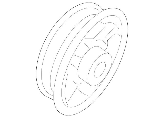5C6-035-621-A-9B9 Rear Speaker 2011-2018 Volkswagen Jetta