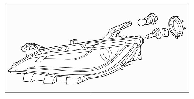 2016-2017 Chrysler 200 Composite Headlamp 68284784AA