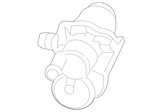 2016-2018 Audi A3 Sportback e-tron Leak Detect Pump 7L0