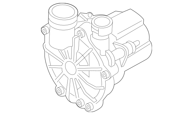 2016-2018 Audi A3 Sportback e-tron A.I.R Pump 04E-131-333