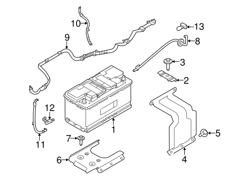 Land Rover Discovery Battery Location
