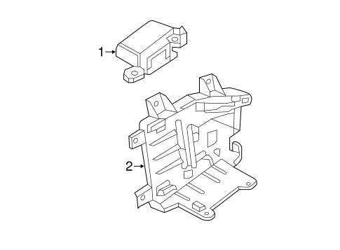 OEM 2016 Chevrolet Suburban Electrical Components Parts