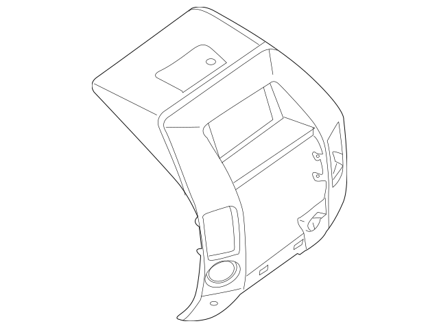 Nissan Titan Armada Instrument Panel Pad & Cluster Bezel