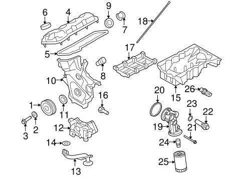 2008 Lincoln Mkx Engine Diagram