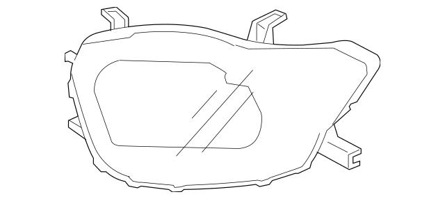 2008-2010 Toyota Highlander Composite Assembly 81170-48480