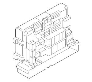 Genuine OEM [Brand] Fuse & Relay Box Part# 61146978271