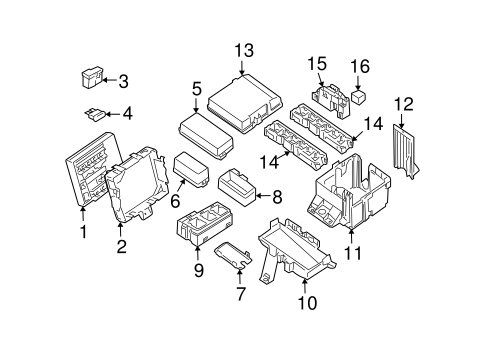 Electrical Components for 2007 Nissan Pathfinder