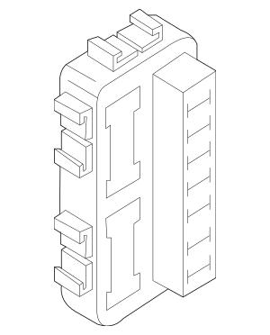 2007-2009 Nissan Altima Junction Block 24350-JA00A