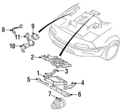 Genuine OEM Powertrain Control Parts For 1992 Mazda Miata