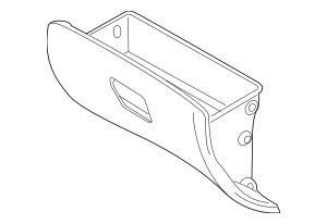 2007-2010 Kia Rondo Glove Box Assembly 84510-1D300RUDS