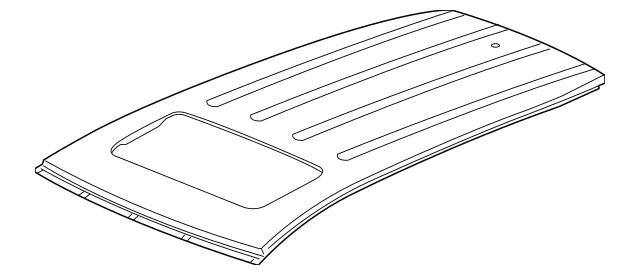 2014-2020 Acura MDX 5-DOOR Panel, Roof 62100-TZ5-A00ZZ