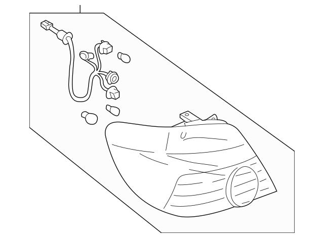 2004 Subaru Outback Rear Suspension Parts