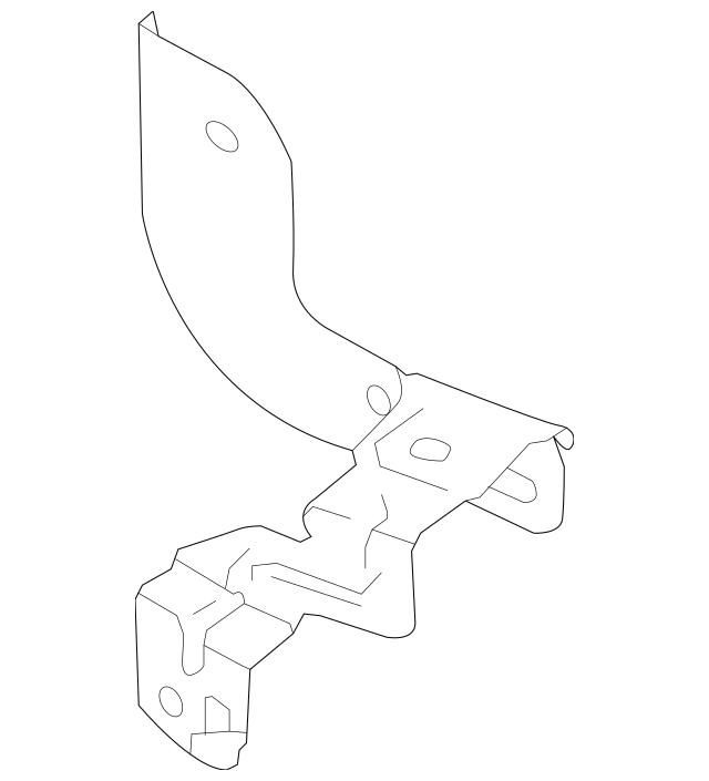 2014-2019 Nissan Junction Block Bracket 24317-4BA0B