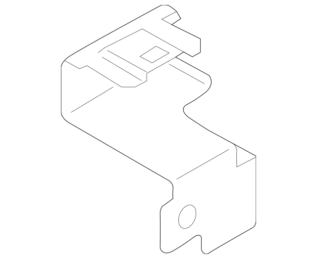 2015-2018 Chevrolet City Express Fuse & Relay Box Bracket