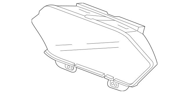 Genuine 2011-2013 Honda ODYSSEY 5-DOOR Lens (Display