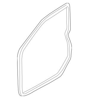 2001-2006 Hyundai Elantra Door Weather-Strip 82140-2D000