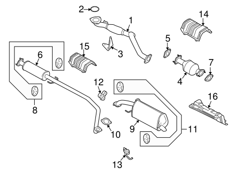 2011 Chevy Aveo5 Engine Diagram