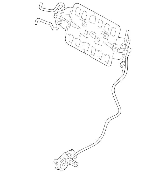 OEM NEW 2009-2016 Ford F250 F350 Super Duty Right Lumbar