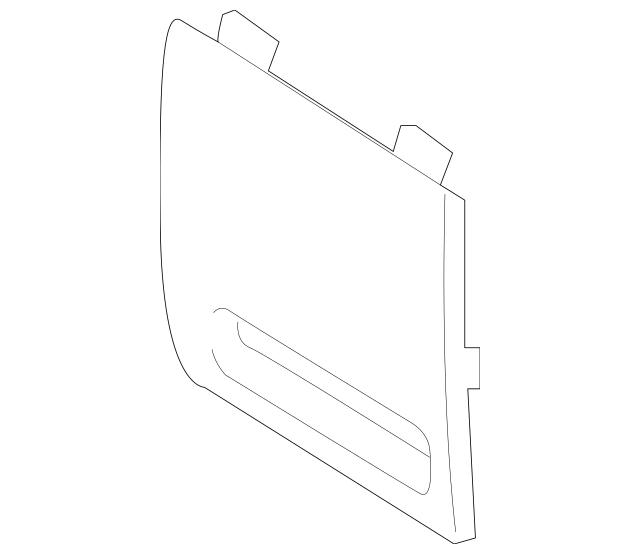 2018-2019 Hyundai Sonata Fuse Box Cover 84753-E6220-TGG
