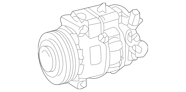 Mercedes-Benz Remanufactured Compressor 001-230-62-11-80