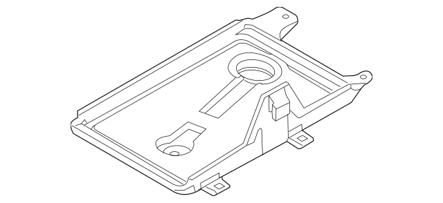 Buy this Genuine 2007-2009 Lincoln MKZ Battery Tray 7H6Z