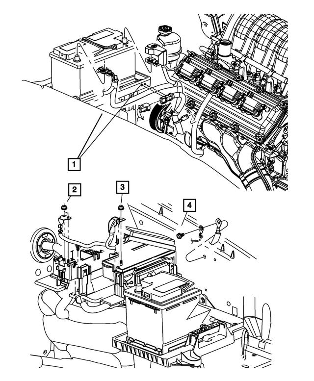 2007-2009 Jeep Grand Cherokee Alternator And Battery