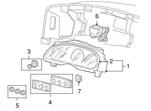 Ford Dashboard AC Heat Temperature Fan Speed Control Knob
