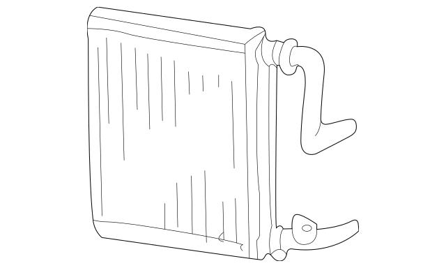 2001-2006 Acura MDX 5-DOOR Core, Heater 79110-S0X-A01