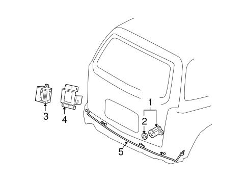 Electrical Components for 2006 Chevrolet Uplander