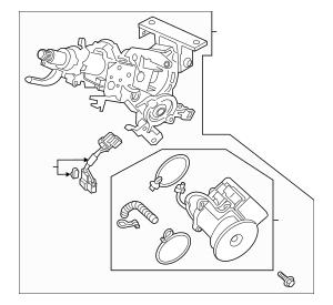 2016 Honda PILOT 5-DOOR Column, Steering 53282-TG8-A10