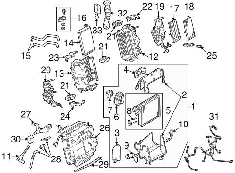 Evaporator & Heater Components for 2009 Audi A5 Quattro