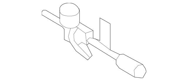 OEM Porsche Pressure Sensor Part# 955-358-710-02 Fits 2003