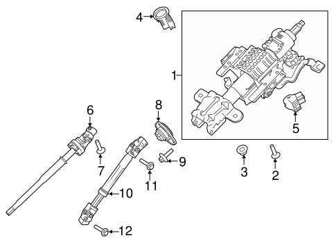 IGNITION LOCK for 2015 Ford F-150