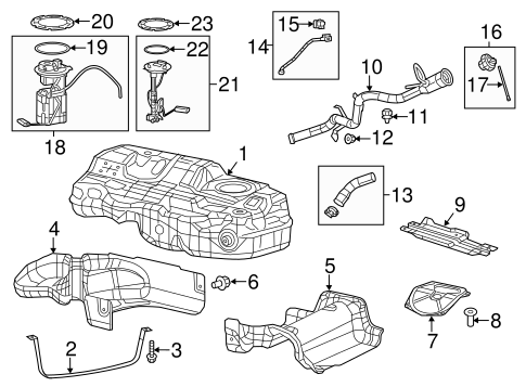 Chrysler Electrical Senders parts for a 2015 Chrysler 200