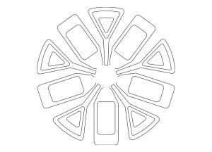 Genuine OEM Wheel, Alloy Part# 52910-3W610 Fits 2014-2016