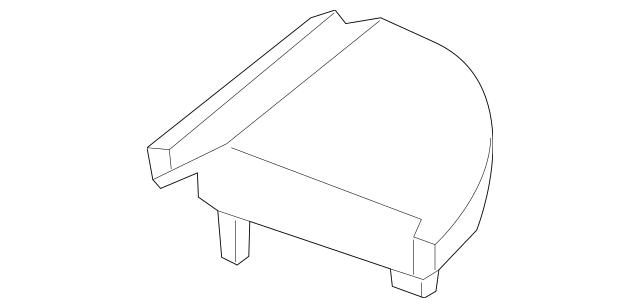 2015-2019 Chevrolet Impala Speaker Grille 23135468