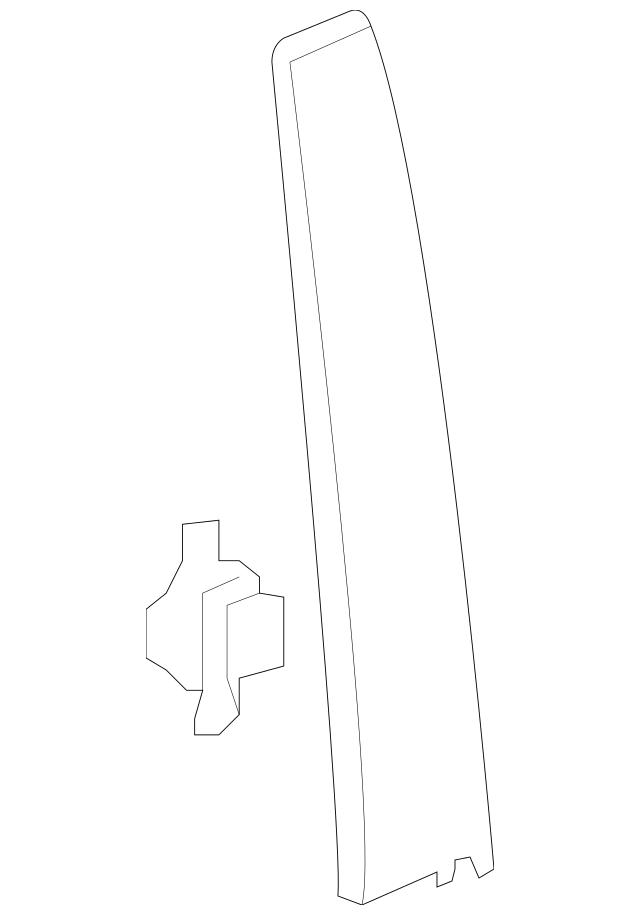 2013-2015 Honda PILOT 5-DOOR Garnish Assembly, L Front