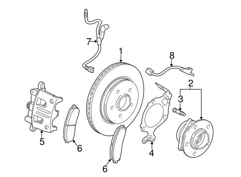 ANTI-LOCK BRAKES Parts for 2004 Saturn Vue