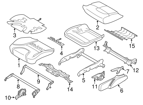2006 Ford Mustang Power Seat Wiring Diagram