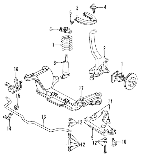Upper Control Arm for 1994 Chevrolet Camaro