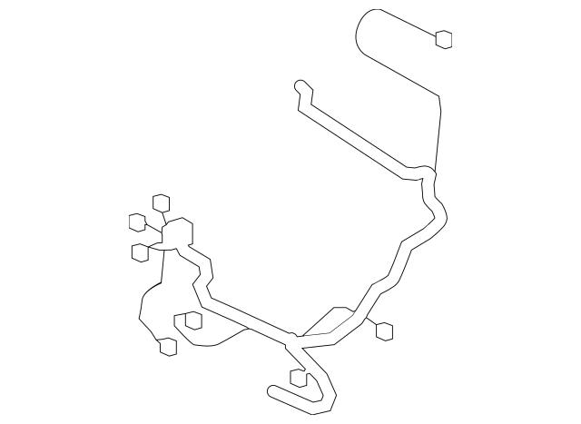 2008-2019 Toyota Sequoia Wire Harness 82191-0C050