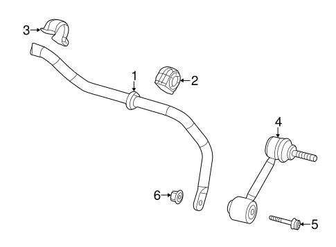 Stabilizer Bar & Components for 2017 Volkswagen Beetle