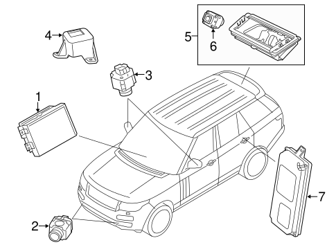 Electrical Components for 2016 Land Rover Range Rover