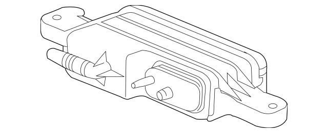 OEM GM Vapor Canister Part# 19329627 Fits 2008-2009