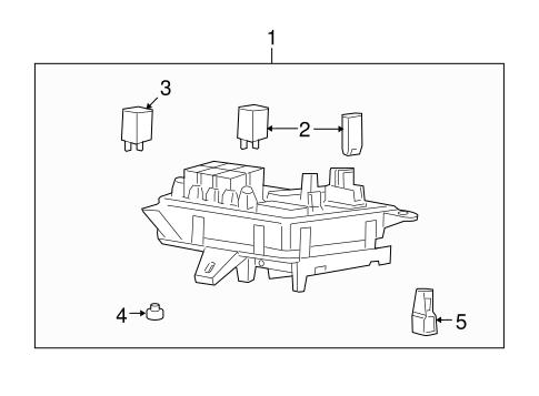 OEM 2011 Buick Enclave Fuel System Components Parts