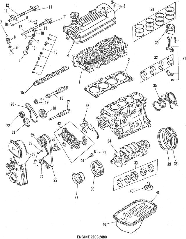 Genuine OEM Crankshaft Pulley Part# MD150002 Fits 1990