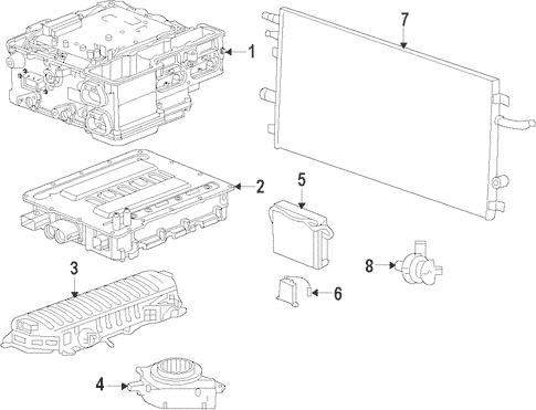 Hybrid Components for 2009 Cadillac Escalade