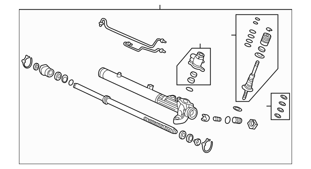 Honda Power Steering Rack, Core ID (S04-A5) (RMD)(American